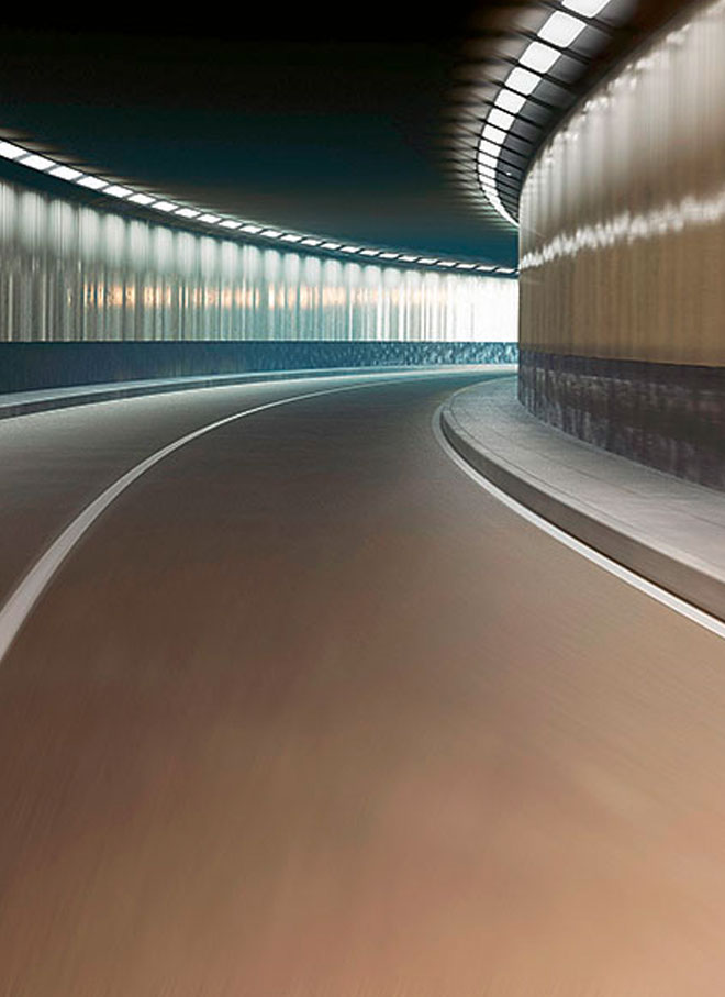 ELEKTRON brings light to the tunnel.
