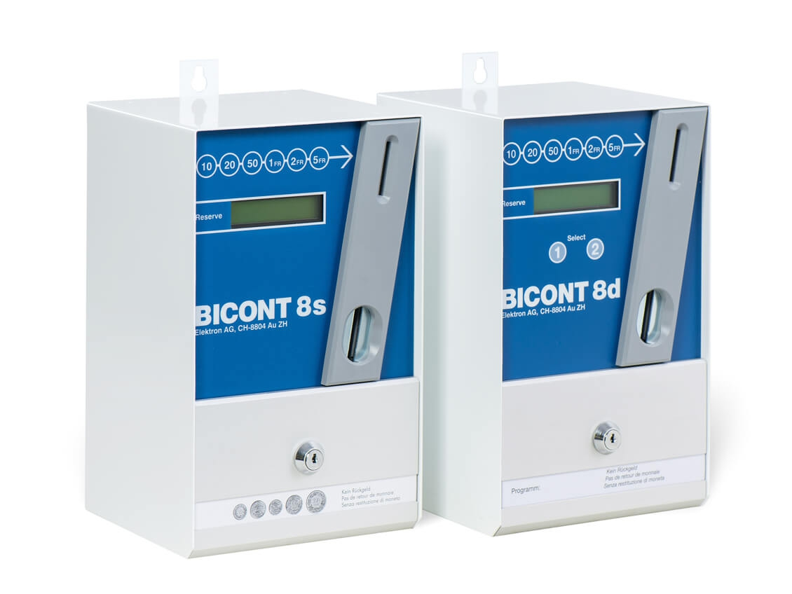 BICONT 8s and BICONT 8d coin-operated machines